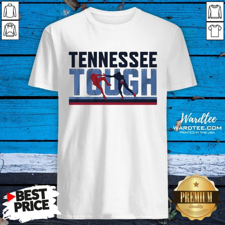 Good Tennessee Tough Nashville Football Shirt - Design By Earstees