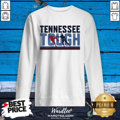 Good Tennessee Tough Nashville Football Sweatshirt - Design By Earstees