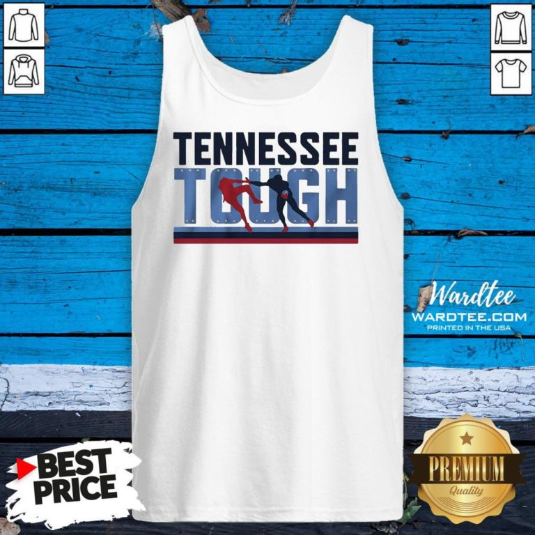 Good Tennessee Tough Nashville Football Tank Top - Design By Earstees