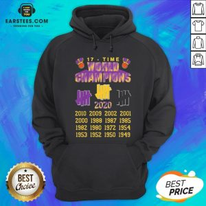 Good Undefeated Lakers 17 Time Champion Hoodie - Design By Earstees.com