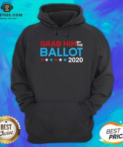 Grab Him By The Ballot – Joe Biden And Kamala Harris 2020 Hoodie - Design By Earstees.com