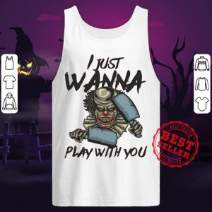 Halloween Joker I Just Wanna Play With You Tank Top