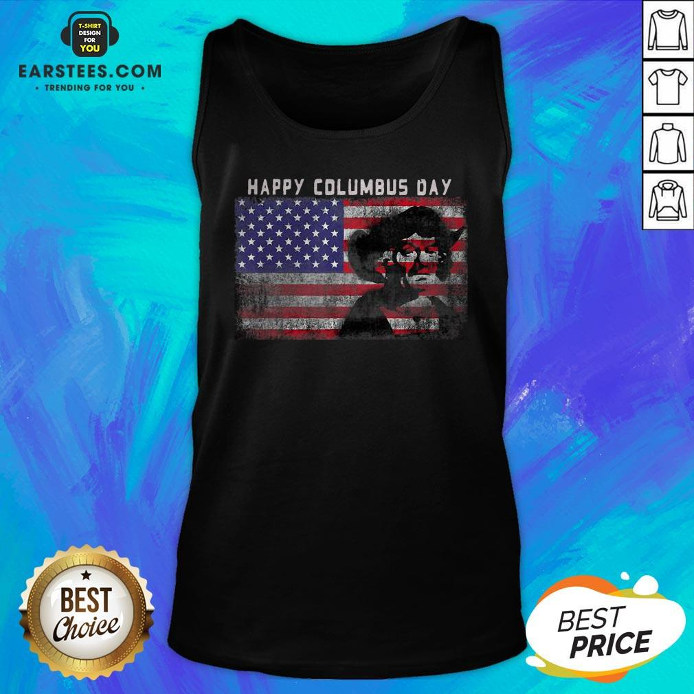 Happy Columbus Day – Italian Explorer – America – Discovery Tank Top - Design By Earstees.com