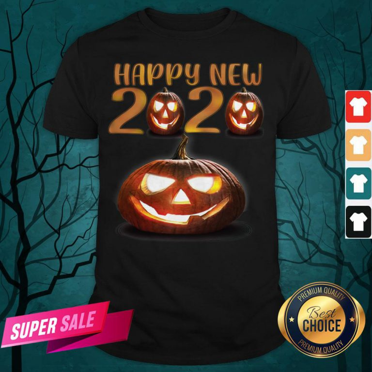Happy New Halloween Pumpkins 2020 Shirt
