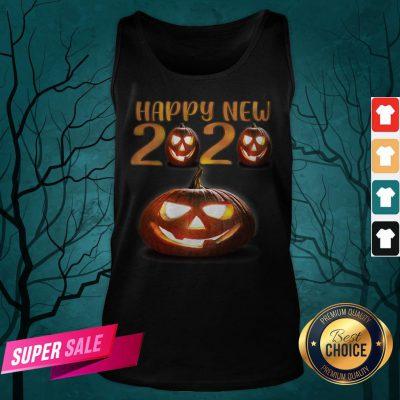 Happy New Halloween Pumpkins 2020 Tank Top