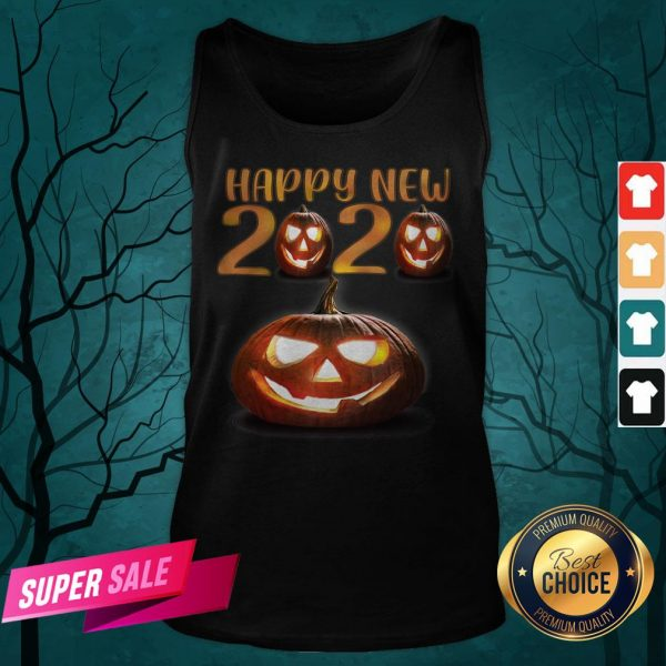 Happy New Halloween Pumpkins 2020 Tank Top
