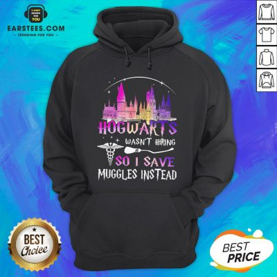 Hogwarts Wasn't Hiring So I Save Muggles Instead Hoodie - Design By Earstees.com