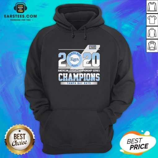 Hot 2020 American League Championship Series Champions Tampa Bay Rays Hoodie - Design By Earstees.com