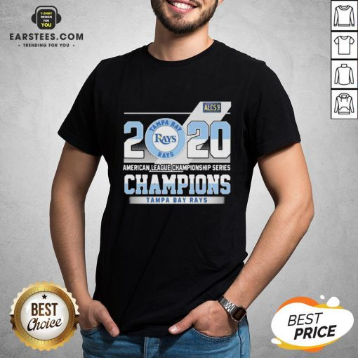 Hot 2020 American League Championship Series Champions Tampa Bay Rays Shirt - Design By Earstees.com