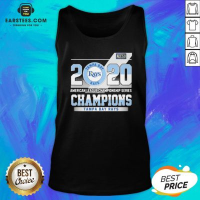 Hot 2020 American League Championship Series Champions Tampa Bay Rays Tank Top - Design By Earstees.com
