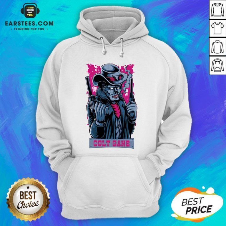 Hot Colt Game Shooter Halloween Hoodie - Design By Earstees.com