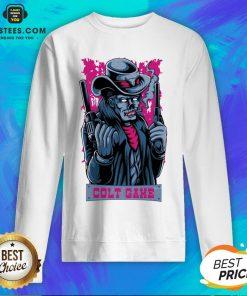 Hot Colt Game Shooter Halloween Sweatshirt - Design By Earstees.com