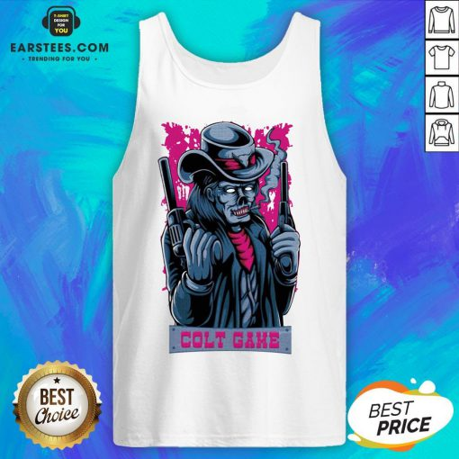 Hot Colt Game Shooter Halloween Tank Top - Design By Earstees.com