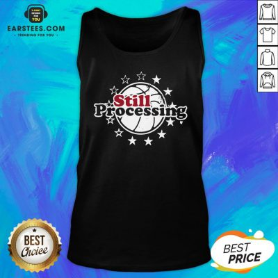 Hot Still Processing Philadelphia Basketball Tank Top - Design By Earstees.com