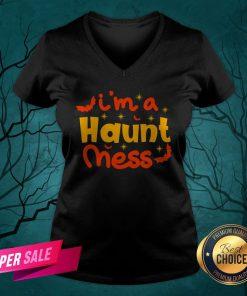 I'm A Haunt Mess Happy Halloween V-neck