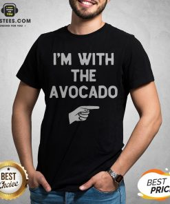 I'm With The Avocado Costume Halloween Matching Shirt - Design By Earstees.com