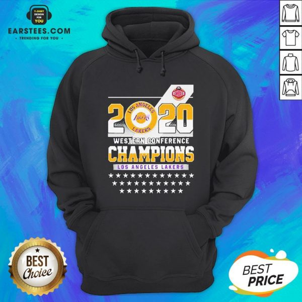 Los Angeles Lakers Western Conference Champions 2020 Hoodie - Design By Earstees.com