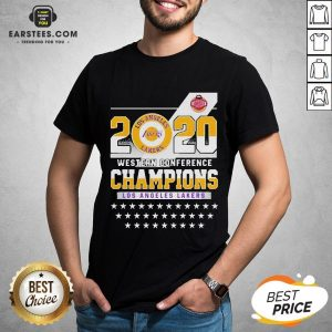 Los Angeles Lakers Western Conference Champions 2020 Shirt - Design By Earstees.com
