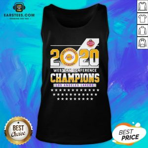 Los Angeles Lakers Western Conference Champions 2020 Tank Top - Design By Earstees.com