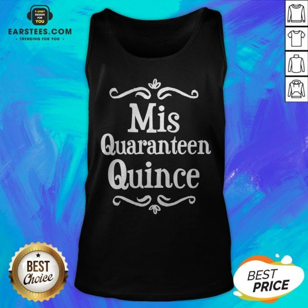 Mis Quince 15 Quaranteen Birthday Teenager Tank Top - Design By Earstees.com