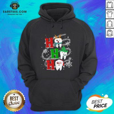 Nice Dental Ho Ho Ho Christmas Gift Hoodie - Design By Earstees.com