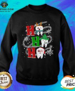 Nice Dental Ho Ho Ho Christmas Gift Sweatshirt - Design By Earstees.com