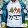 Nice Have A Pawsome Christmas Bulldog Shirt - Design By Earstees.com