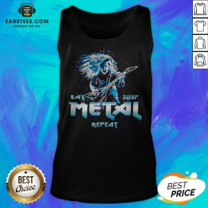 Nice Heavy Metal Eat Metal Sleep Repeat Tank Top