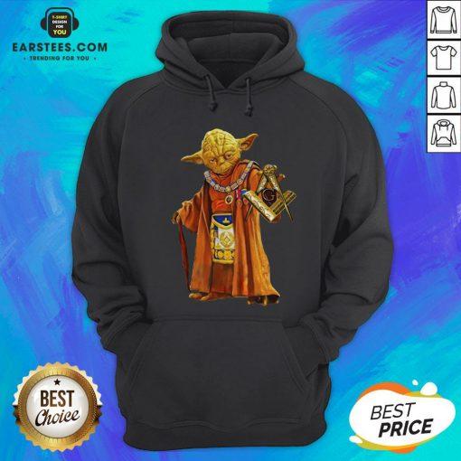 Nice Master Yoda Freemason Brother Hoodie - Design By Earstees.com