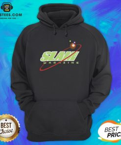 Nice Slam Magazine Hoodie - Design By Earstees.com