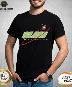 Nice Slam Magazine T-shirt - Design By Earstees.com