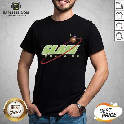 Nice Slam Magazine T-shirt - Design By Earstees.com