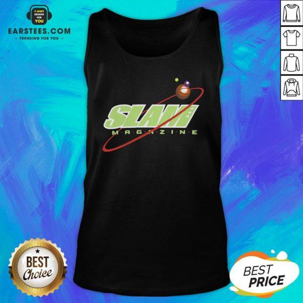 Nice Slam Magazine Tank Top - Design By Earstees.com