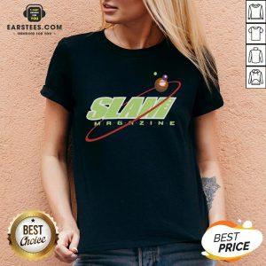 Nice Slam Magazine V-neck - Design By Earstees.com