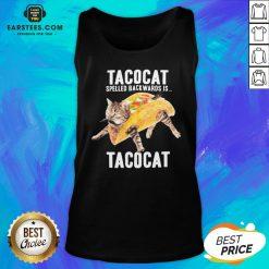 Nice Tacocat Spelled Backwards Is Tacocat Tank Top - Design By Earstees.com