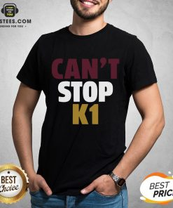 Official Can't Stop K1 Arizona Football Shirt - Design By Earstees.com
