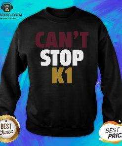 Official Can't Stop K1 Arizona Football Sweatshirt - Design By Earstees.com