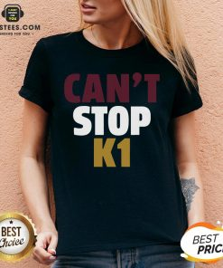 Official Can't Stop K1 Arizona Football V-neck - Design By Earstees.com