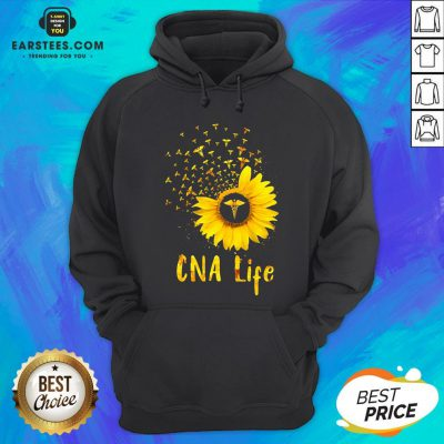 Official CNA Life Sunflower Hoodie - Design By Earstees.com