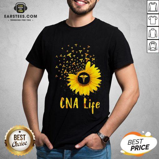 Official CNA Life Sunflower Shirt - Design By Earstees.com