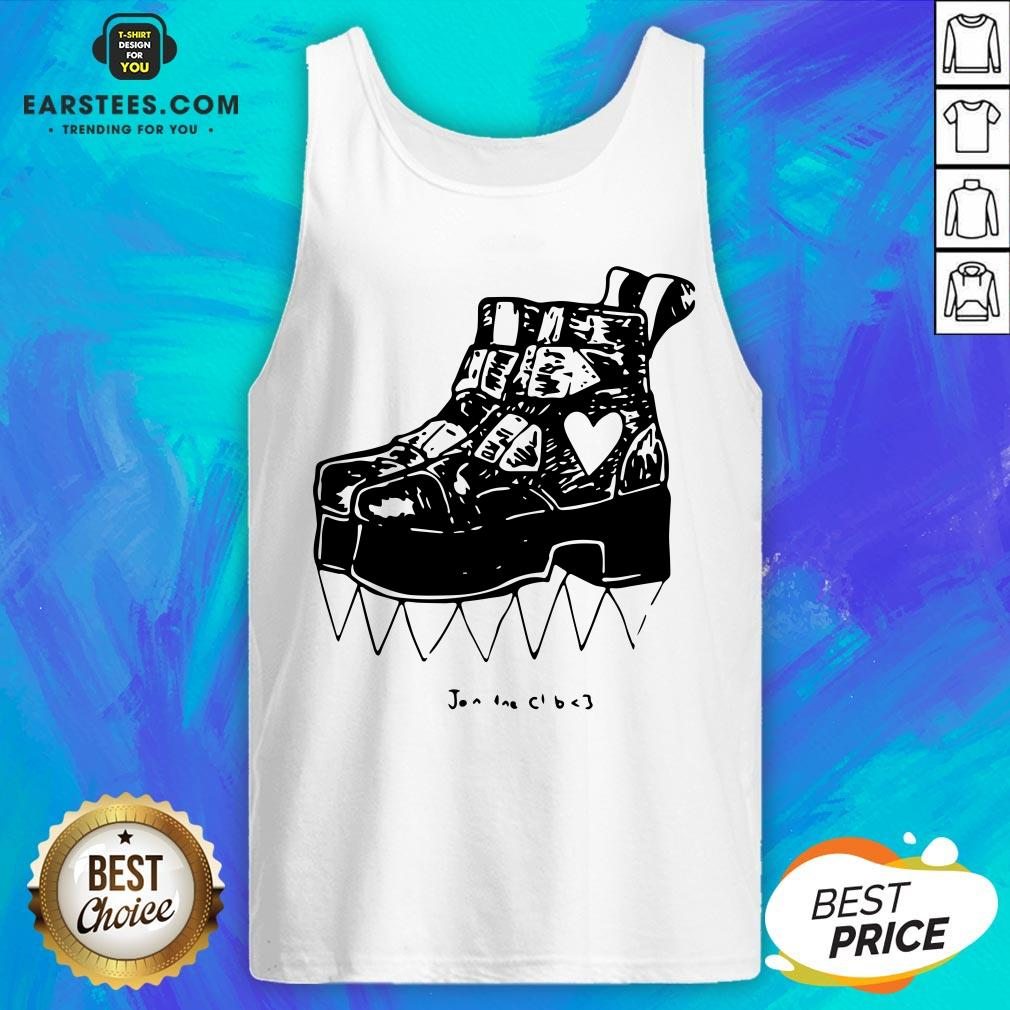 Official Deathstud Boots Join The Club Tank Top - Design By Earstees.com