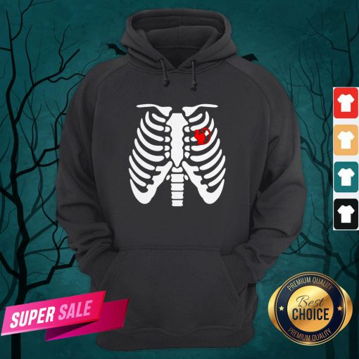 Official Halloween Day Skeleton Cat Hoodie