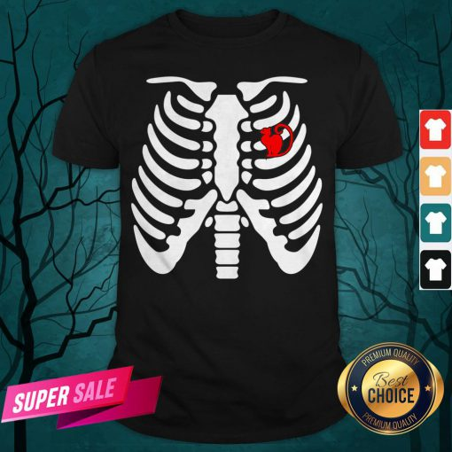 Official Halloween Day Skeleton Cat Shirt