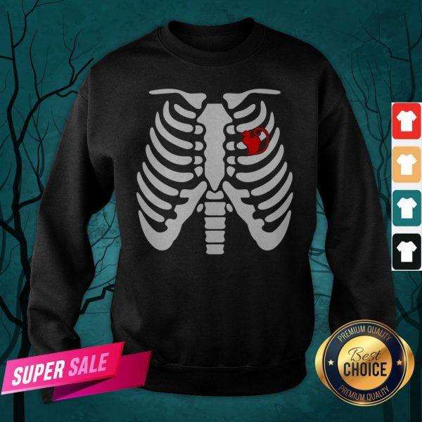 Official Halloween Day Skeleton Cat Sweatshirt