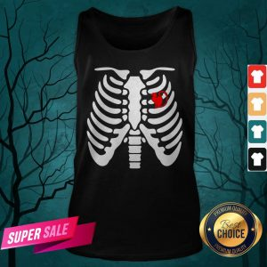 Official Halloween Day Skeleton Cat Tank Top