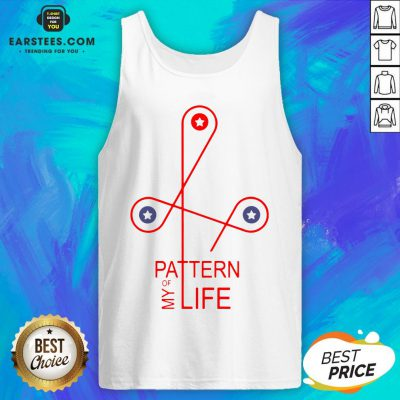 Official Pattern Of My Life Tank Top - Design By Earstees.com