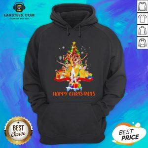 Original Freddie Mercury Happy Christmas Tree Hoodie - Design By Earstees.com