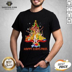 Original Freddie Mercury Happy Christmas Tree Shirt - Design By Earstees.com