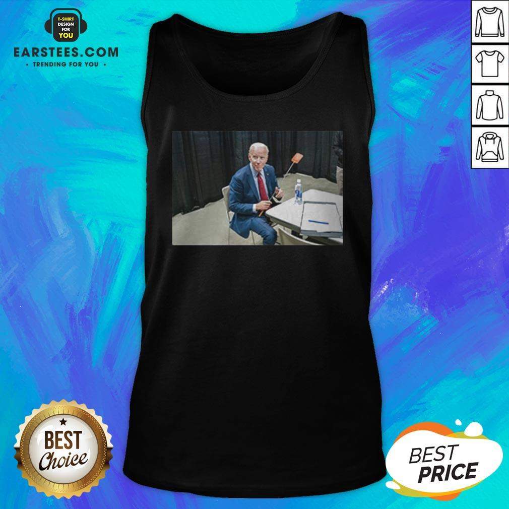 Original Joe Biden With The Fly Tank Top - Design By Earstees.com