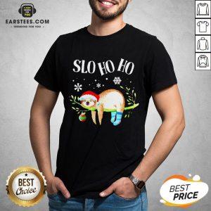 Original Sloth Slo Ho Ho Christmas 2020 T-Shirt - Design By Earstees.com